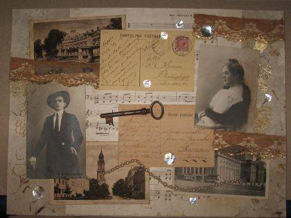 открытка коллаж