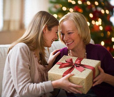 подарки родителям к новому году