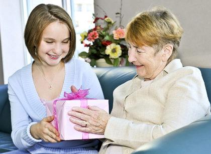 подарок бабушке