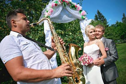 истории знакомства с фотографиями на свадьбе