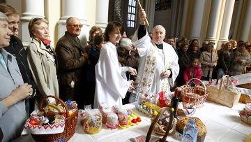католическая пасха 2014